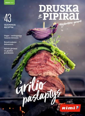 "RIMI - ""Druska ir pipirai"" / Vasara 2021"