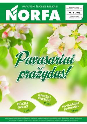 NORFA - Leidinys Nr.8 (2020 04 30 - 2020 05 13)