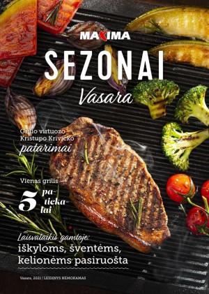 "MAXIMA žurnalas ""Sezonai"