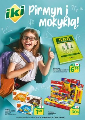 IKI - Pirmyn į mokyklą! (2020 08 03 - 2020 08 30)