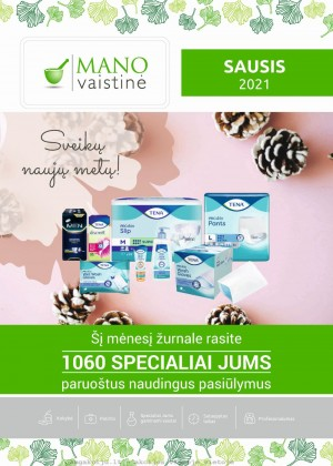 MANO VAISTINĖ (2021 01 01 - 2021 01 31)